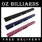 """1 Cue Box Case for Pool Snooker Billiard 2-Piece 57"""" Cue FREE POST $33.99 AUD on eBay"""