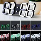 LED Digital Large Jumbo Snooze Wall Room Desk Calendar Alarm Clock Display TQ
