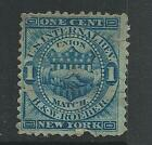 RO 160a--H&W ROEBER  1 CENT MATCH  PRIVATE DIE TAX STAMP-- --44