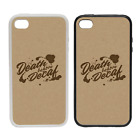 Death Before Decaf - Rubber and Plastic Phone Cover Case #2 -Coffee Focus Energy