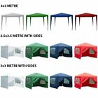 Gazebo Marquee Party Tent With Sides Waterproof Garden Pop Up Wedding Canopy