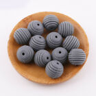 Silicone Spiral Beads DIY Baby Chewable Teething Necklace Teether Toys BPA Free