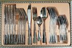 24 Pieces High Quality Cutlery Stainlesd Steel Dining Tableware.