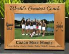 Personalized Engraved // Golf Coach // Picture Frame