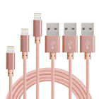 3/6/10FT Lightning USB Cable Cord Charger For Apple iPhone X 8 Plus iPad Mini