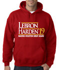 "Houston Rockets James Harden Lebron James ""19""  HOODED SWEATSHIRT on eBay"