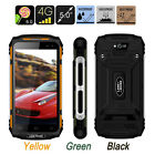 "Unlocked 4G Android Rugged Smartphone 8G/16G /32G Waterproof 5"" Quad Core Phone"