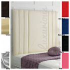RIO II High Wall Panel Faux Leather Headboard - Choose your Size and Colour