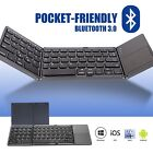 Ultra Slim Bluetooth Wireless Keyboard for Apple iPad iPhone Android lot Z