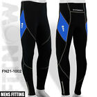 Mens Winter Cycling Tights Cycle Coolmax Padded Legging Trouser BLUE