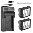 Kastar Battery Slim Charger for Panasonic CGA-S006e CGR-S006 CGR-S006e DMW-BMA7