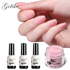 Dip Powder Nail Polish  Metallic Black And White Gel Kit Dip