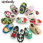 First Walkers Shoes Slippers Genuine Leather Baby Boys Girls Newborn Shoes