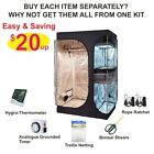TopoLite 2-in-1 Grow Tent + Hydroponics Indoor Plants Growing Setup Accessories