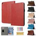 Luxury For iPad 2 3 4 5 6/Air/Mini/Pro Sof Leather Wallet Smart Stand Case Cover