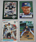 a auto milwaukee - The Smoky Collection | Milwaukee Brewers A In Person Autograph Auto | You Pick