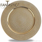 Внешний вид - Fantastic:)™ Round 13Inch Charger Plate With Shiny Finish ( Hammer Pattern )