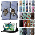 For Apple iPhone 8 / iPhone 7 4.7 inch Kitten Design Luxury Wallet Case Cover