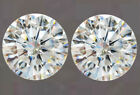 Moissanite White H-I Color Pair 0.80 Ct TO 3.36 Ct VVS1 Brilliant Round Cut TCW
