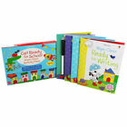 Usborne Starting Get Ready School Activity Pack Wipe Clean Books Sticker Pack 3+