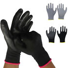 PU Palm Coated Precision Protective Safety Builders Work Gloves - Multi Purpose