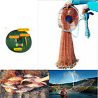 Big Fishing Net Nylon Casting Catching Bait Fish Open Easy Throw Large Catch NEW