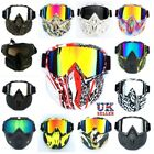 UK Outdoor HD Visual Goggles Military Airsoft Paintball CS Games Tactical Masks