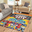 Hot New Mat Custom Transformers Resque Bots Area Rug Decorative Floor Rug Carpet