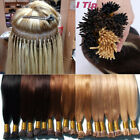 Pre Bonded Micro Ring Bead Stick I Tip Indian Remy Human Hair Extensions US J903 $29.6 USD on eBay