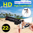 Universal 22x Zoom Telephoto Camera Lens For Tablets iPad Pro iPhone X Samsng S9