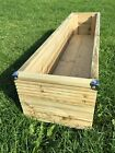 Large Wooden Decking Planters 0.6M 0.9M (3ft) 1.2M (4ft) 1.5M (5ft) 1.8M (6ft)