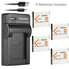 Kastar Battery Slim Charger for Sony NP-BN1 BC-CSN & Sony Cyber-shot DSC-W560