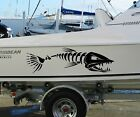 Huge 900mm Fishing BOAT FISH Stickers Marine Vinyl Tackle Box Cabin or Hull