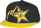 NEW FLY RACING BLACK AND YELLOW ROCKSTAR HAT