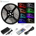 LED Rope Lights Le Freshinsoft Waterproof 16.4ft 5M SMD 5050 300leds/Roll RGB