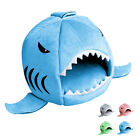 2018new Unique Shark Mouth Pet Dog Cat House Removable & Washable Dog Bed Kennel