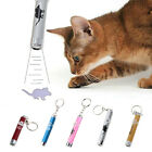 Cat Pet Toy LED Laser Lazer Pointer Pen Light With Bright Cute Animation 5 Color