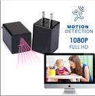 32GB 1080P USB Mini Motion Wall Charger Build-in Camera US Adapter FULL HD Cam