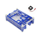 Clear Acrylic Case with Cooling Fan for Raspberry Pi 3 Model B New 9L