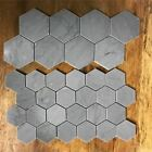 Hexagon concrete tiles molds silicone cement brick wall molds TV background tile