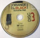 Orange Is The New Black Season 1 Disc 3 Replacement DVD Disc Excellent Condition