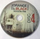 Orange Is The New Black Season 1 Disc 4 Replacement DVD Disc Excellent Condition