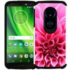 For Moto G6 Play / Moto G6 Forge Colorful Design Case Slim Hybrid Phone Cover