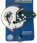 Wincraft Sports Miami Dolphins Fan Wave Suction Cup Mounted Window Sign NFL on eBay