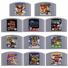 Video Game Card 64 N64 Mario,Smash Bros For Nintendo Cartridge Console US Card