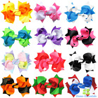Hair Bows With Alligator Clips 3 Inches Headbands Accessorie