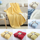 150cm*200cm Warm Chunky Thick Cotton Blanket Throw Bed Sofa Soft Carpet Rug New