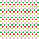 Green, red, lime and pink dot pattern craft  vinyl - HTV -  Adhesive Vinyl -  me