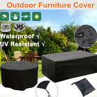 Outdoor Garden Patio Furniture Cover Water Resistant Rattan Table Seat Protector