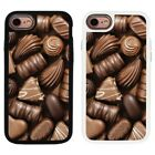 Chocolate Image Design 2 Piece Back Case Cover For Apple iPhone 7 & 8 - S118